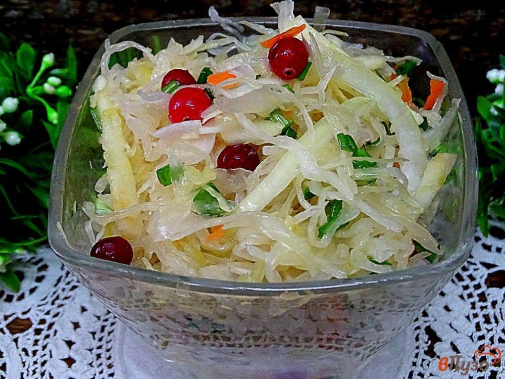 салаты с кислой капустой фото рецепт ажурное плетение румынии